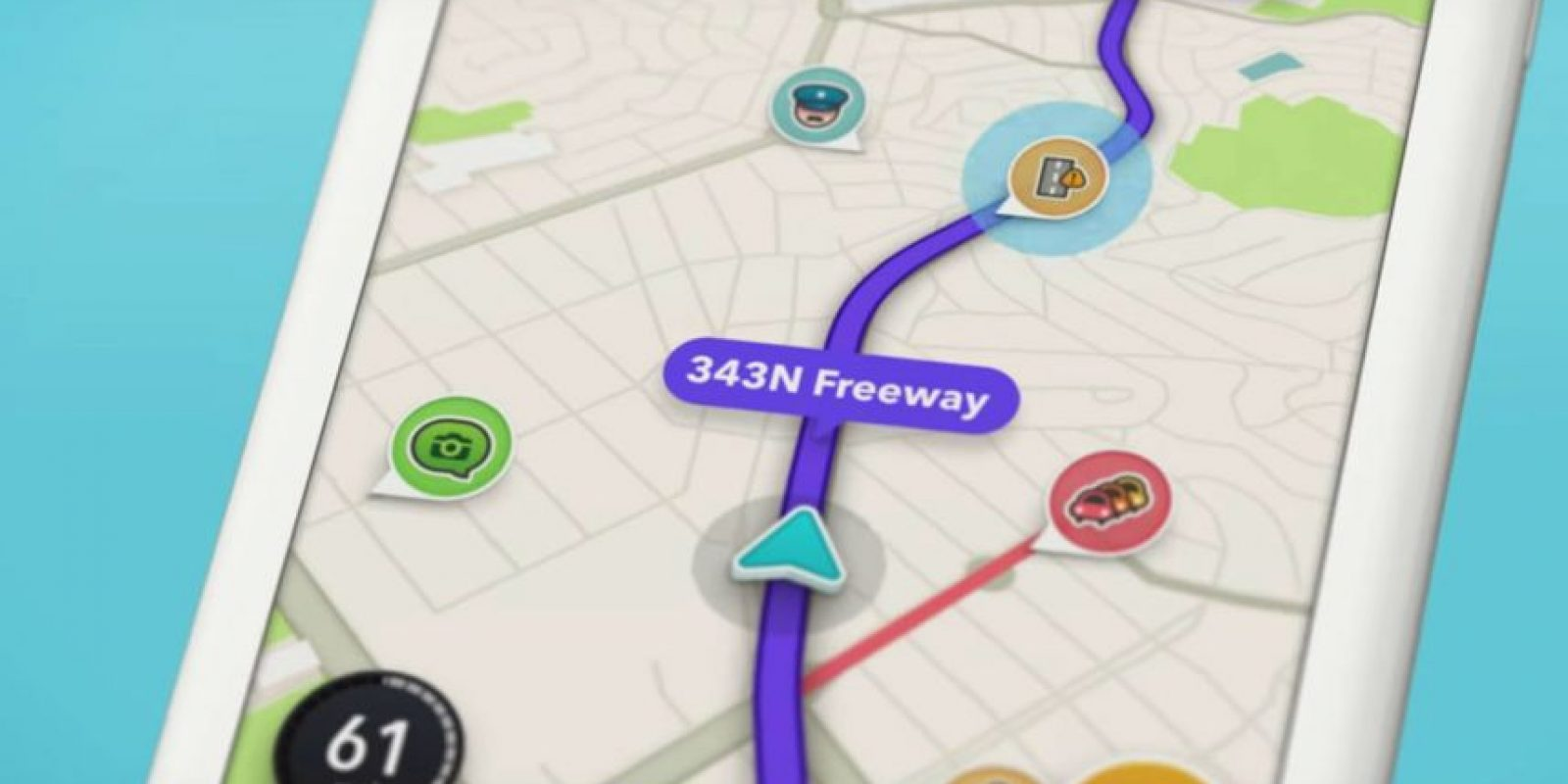 Waze 4.0 ya está disponible para iOS. Foto: Waze