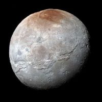 La luna Charon, de Plutón. Foto:Instagram.com/NASA