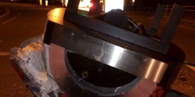 Descubrieron que era un horno para cocinar pizzas Foto:Facebook.com/KingstonPolice