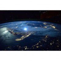 Así luce Italia desde la Estación Espacial Internacional Foto:Instagram.com/NASA