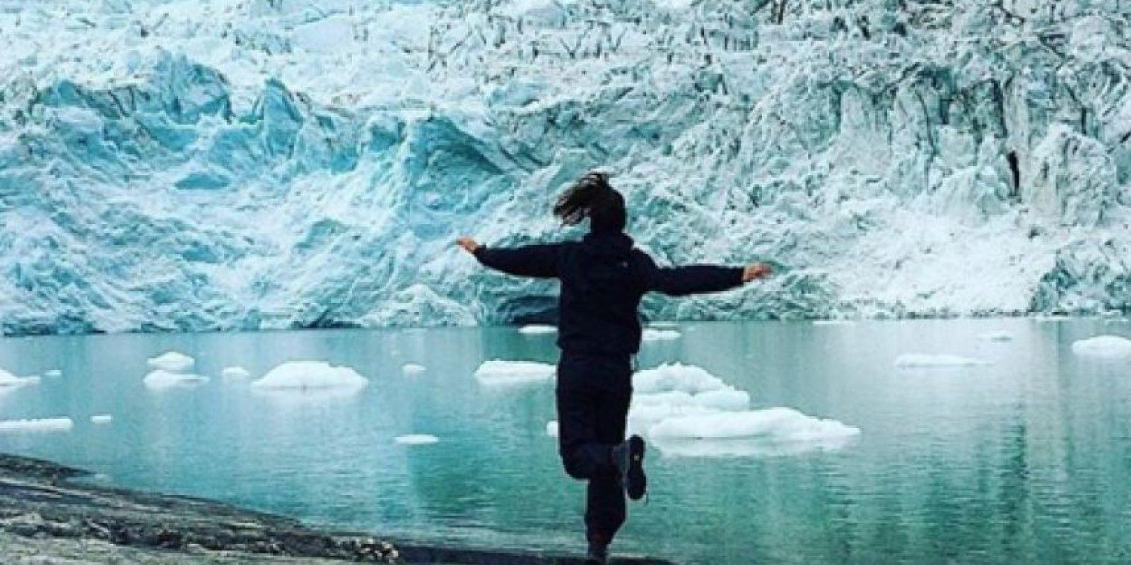 El viaje a la Patagonia de la Toya Montoya Foto:Tomada del Instagram de la Toya Montoya