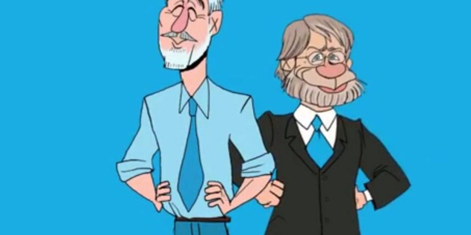 Enrique Peñalosa y Antanas Mockus Foto:Captura de Pantalla youtube/Monkey Soup Co