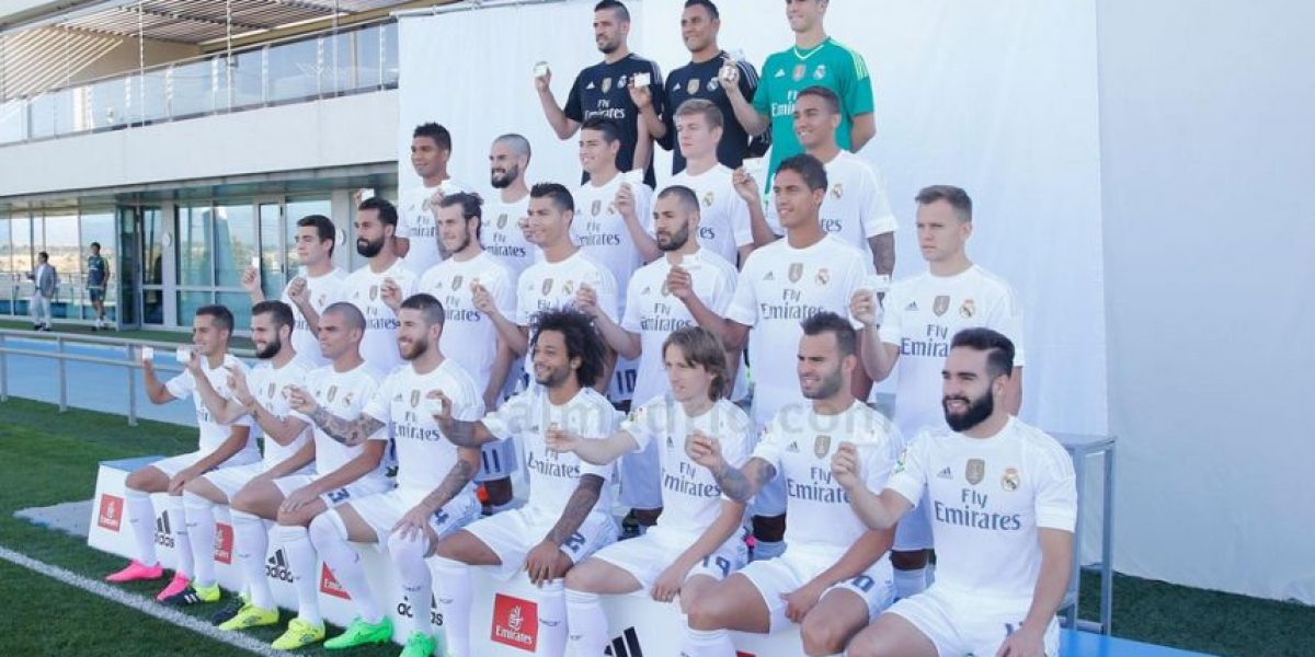 Foto publicada por Real Madrid genera escándalo por supuesto racismo