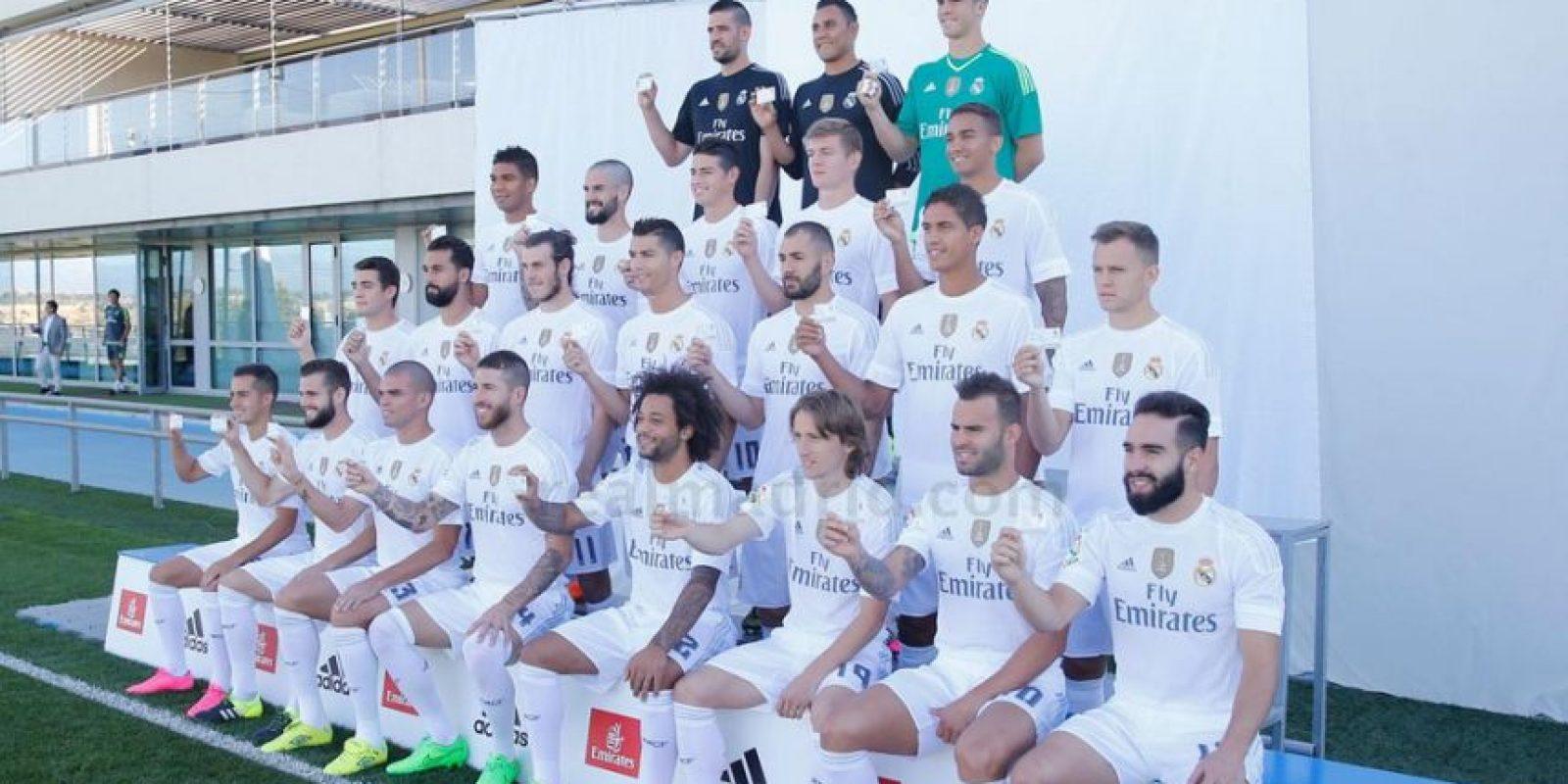 Foto:Cortesía página oficial Real Madrid.