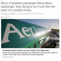 """""""Parece el inicio de una película zombie"""", dijo la reportera Maria Murriel, de Miami Foto:Twitter.com"""