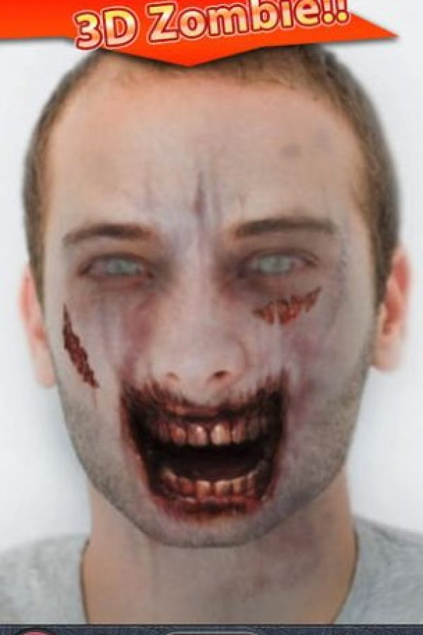 Esta aplicación podrá transformar su foto de perfil en una animación de un zombi en 3D. Está disponible para iOS y Android. Foto:ZombieBooth