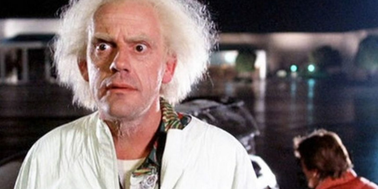 "Dr. Emmett L. ""Doc"" Brown (Christopher Lloyd) Foto: Vía imdb.com"