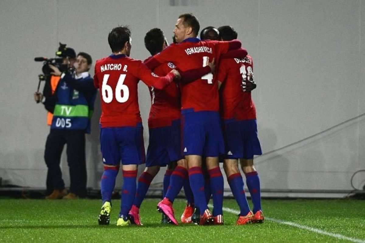 Los moscovitas están en tercer lugar del grupo B con tres puntos. Lo curioso es los cuatro clubes del sector tienen el mismo número de unidades, pero distinta diferencia de goles. Foto:Getty Images