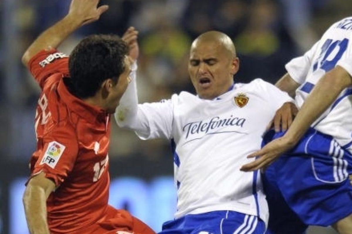 En 2009 se marchó al Real Zaragoza de España. Foto:Getty Images