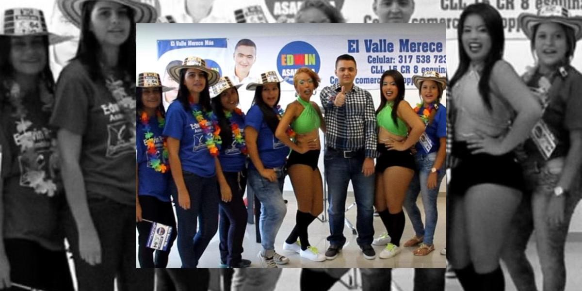 """Candidato """"baila"""" salsa 'shoke' en video de campaña y es objeto de burlas en redes sociales"""