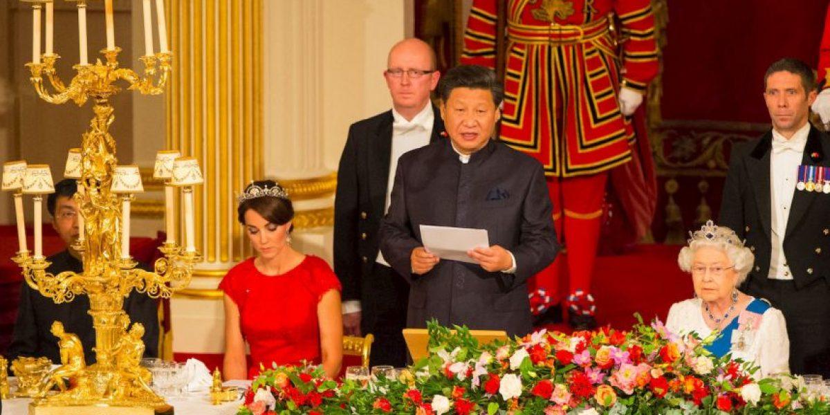 6 estrictas reglas del banquete de estado en el Palacio de Buckingham