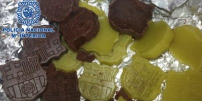 2. Detienen a repostero por hacer chocolates con marihuana y setas alucinógenas Foto:interior.gob.es