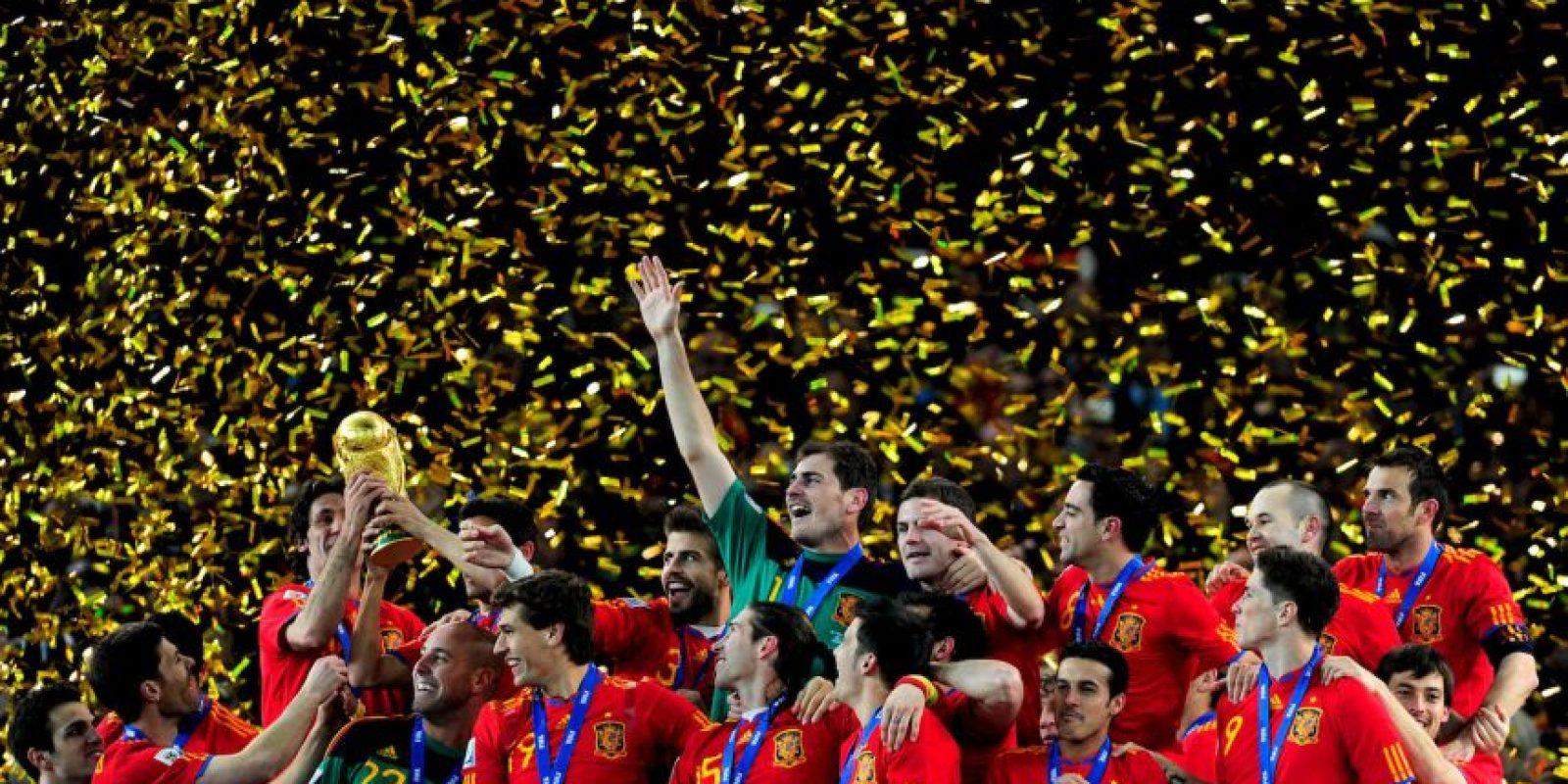 3. Selección de España campeona de dos Euros y un Mundial Foto:Getty Images