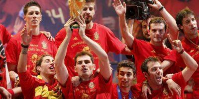 """La """"Furia"""" se coronó en las Euros de 2008 y 2012 y el Mundial de Sudáfrica 2010 Foto:Getty Images"""