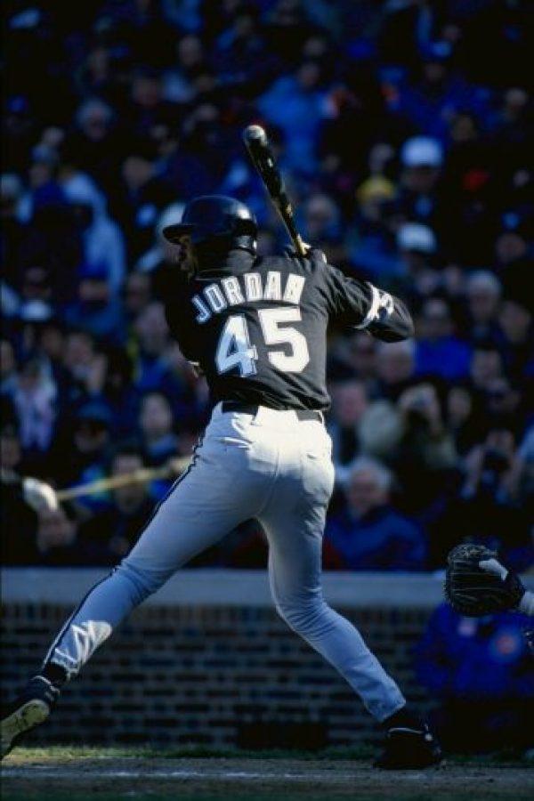 5. Michael Jordan en el béisbol Foto:Getty Images