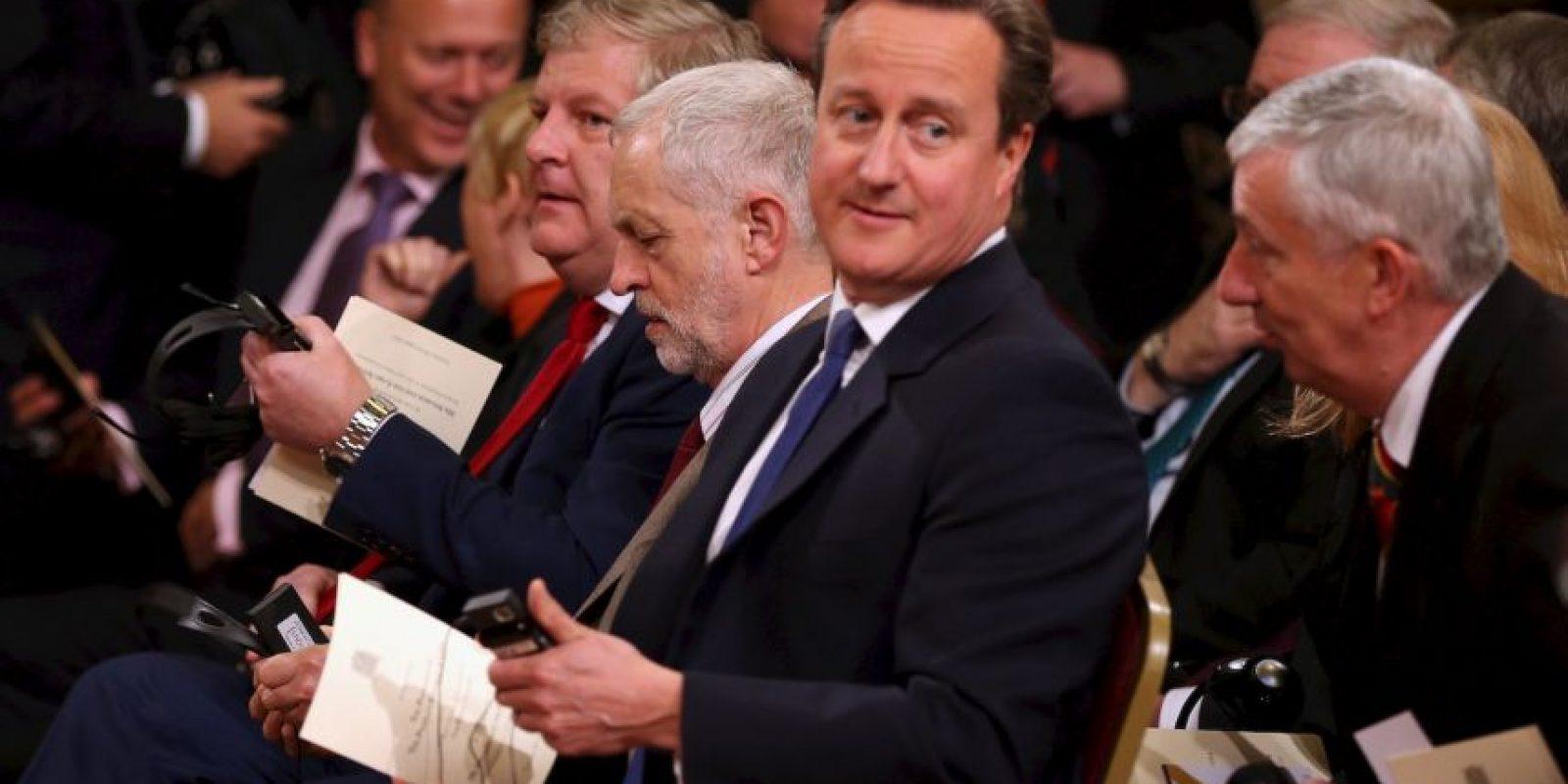 7. Mientras, Reino Unido se comprometió a bajar los visados para los migrantes chinos. Foto:Getty Images