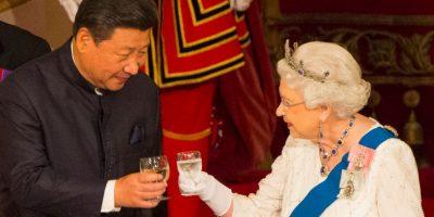 La cena de estado fue la segunda que se celebra este año en el palacio. Foto:Getty Images