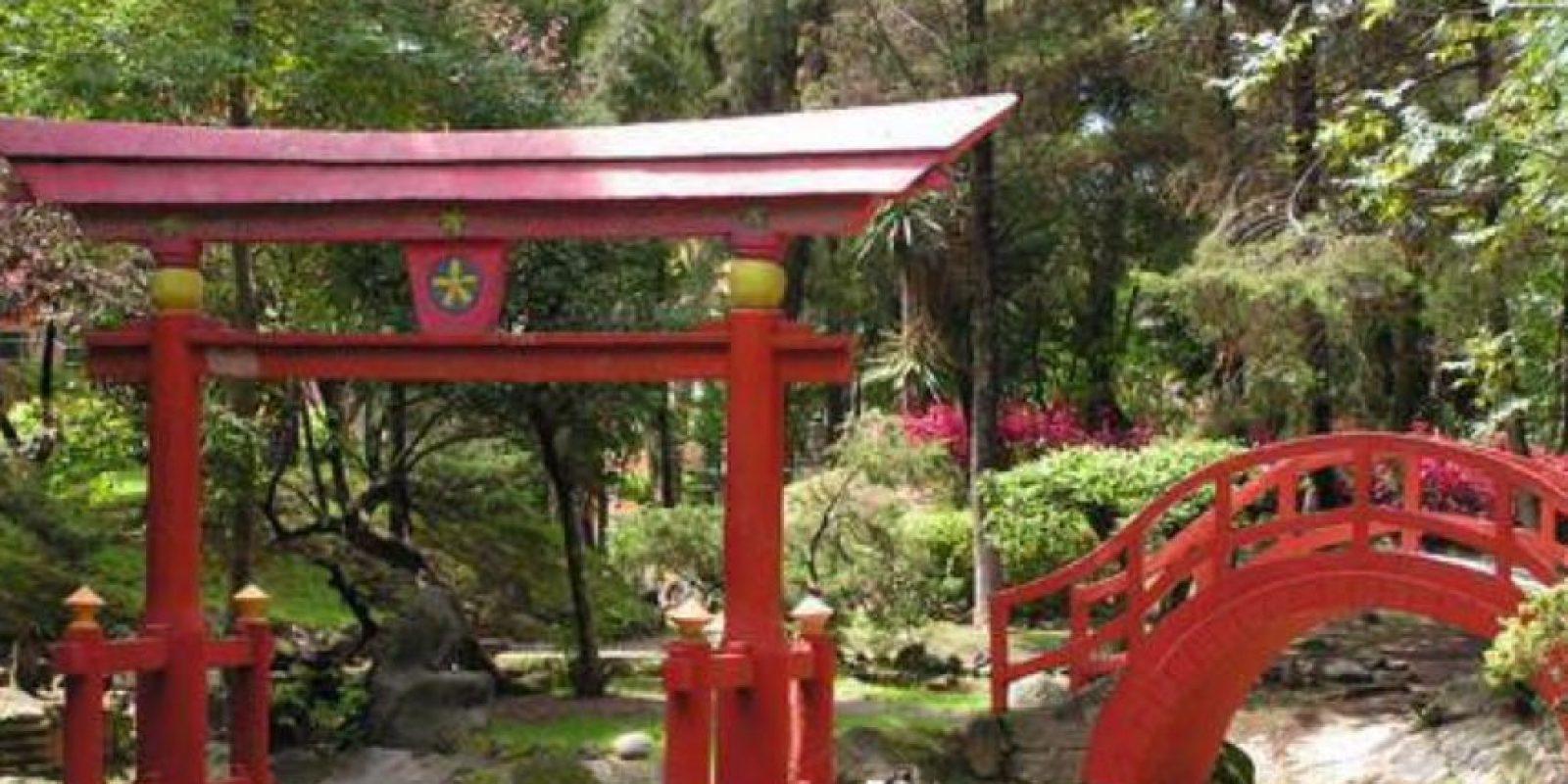 Parque la Pagoda. En la esquina de Tlalpan y Churubusco se ubica este lugar con arquitectura japonesa. Foto:Vía twitter.com/CapitalMexico