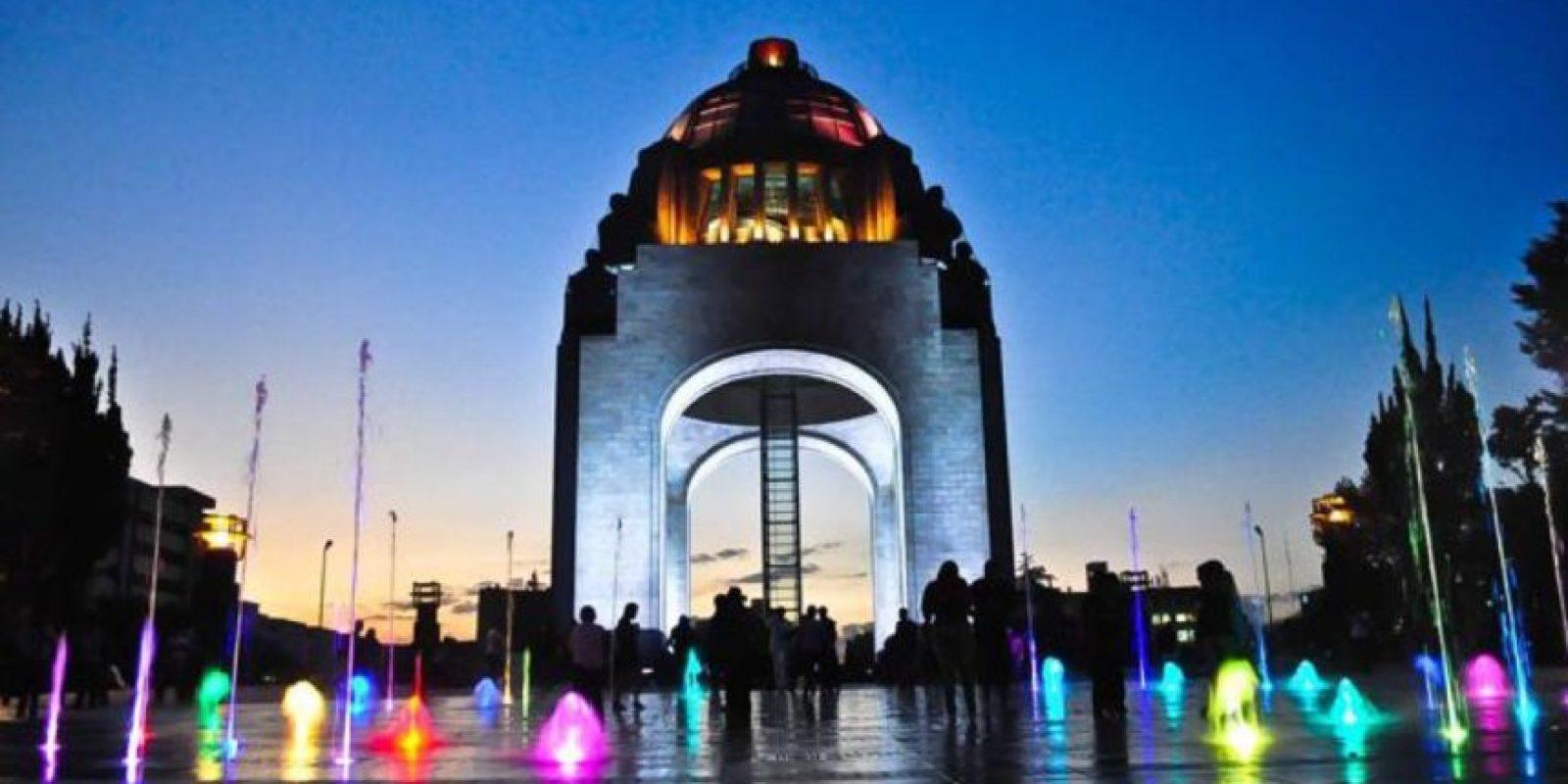 Mirador del Monumento a la Revolución. Foto:Vía twitter.com/CapitalMexico