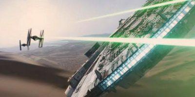 Un viejo conocido es el Halcón Milenario Foto:Lucasfilm