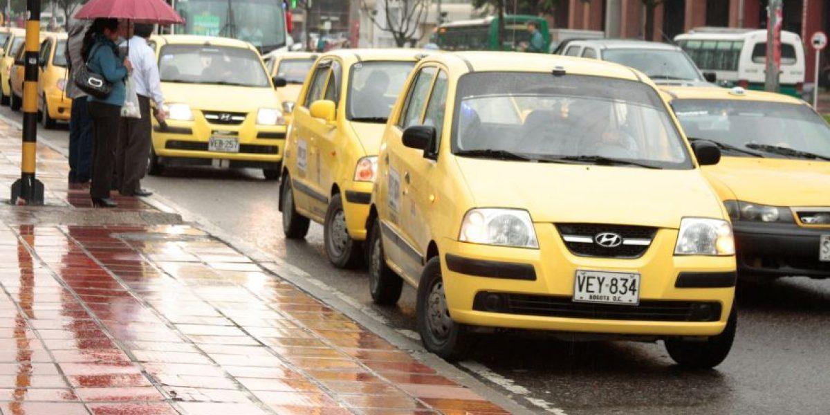 Prima navideña a taxistas en Bogotá no será obligatoria