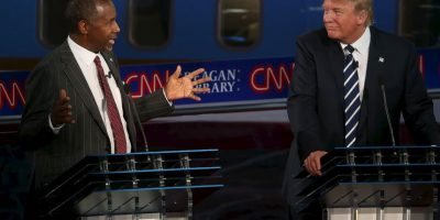 De acuerdo a una encuesta publicada recientemente por la Universidad de Quinnipiac, Carson gana por 8 puntos a Trump en el estado de Iowa. Foto:Getty Images