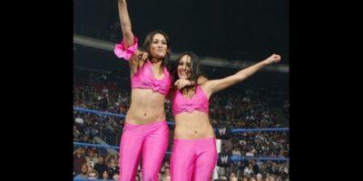 Bella Twins. Llegaron al territorio de desarrollo en 2007 Foto:WWE