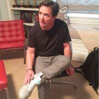 """5. Nike hizo realidad los zapatos deportivos de """"Marty"""" Foto:Twitter/RealMikeFox"""