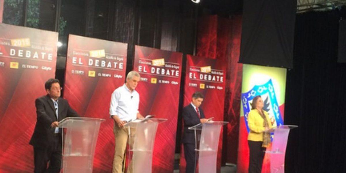 El Agarrón entre Rafael Pardo y Enrique Peñalosa en #ElDebateBogotá
