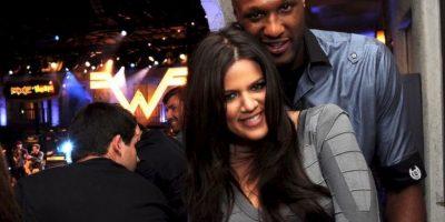"""En 2009, Khloé Kardashian y Lamar Odom se casaron a tan solo cuatro semanas de conocerse… un """"amor a primera vista"""". Foto:Getty Images"""