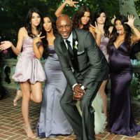 Al igual que toda la familia Kardashian-Jenner, quien lo apoyó hasta el último momento. Foto:The Grosby Group