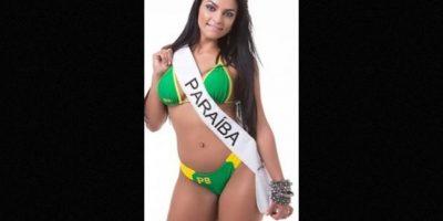 Débora Dantas es representante de Paraíba Foto:missbumbum2015.com.br