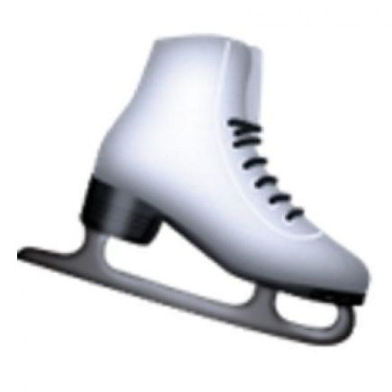 Patín para el hielo. Foto:vía emojipedia.org