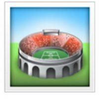 Estadio de fútbol. Foto:vía emojipedia.org