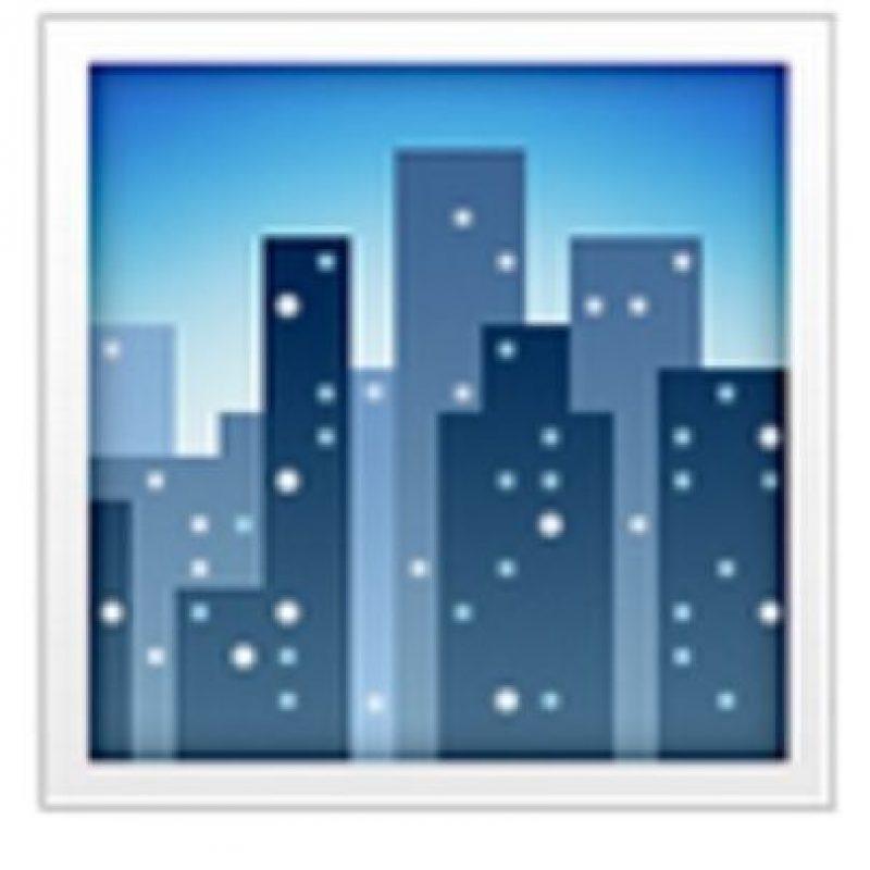 Tarde metropolitana. Foto:vía emojipedia.org