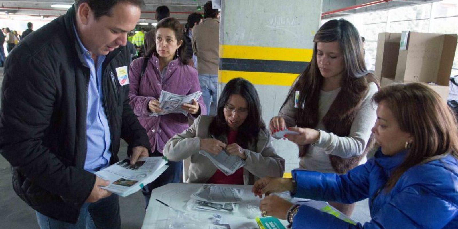 Habrá cerca de 700 mil jurados de votación en todo el país para las elecciones del 25 de octubre Foto:Juan Pablo Pino – Publimetro