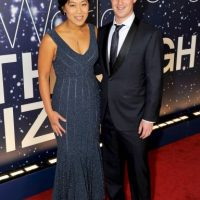 Mark Zuckerberg y su esposa Priscilla Chan Foto: Getty Images