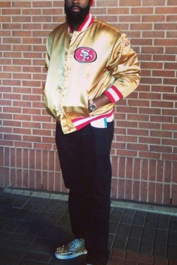 Su gusto por los 49ers de San Francisco de la NFL Foto:Vía instagram.com/jharden13