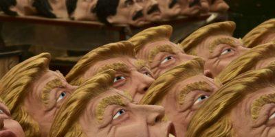 Pese a su 'rivalidad', el Chapo y Trump se encontrarán en las fiestas de Halloween Foto:AFP