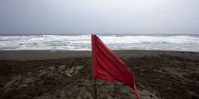 El oceáno pacífico en alerta Foto:AFP