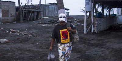 El huracán amenaza a México con efectos potencialmente catastróficos. Foto:AFP