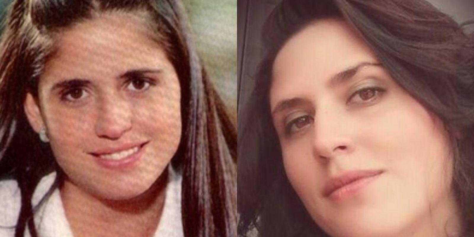 Lina Luna le daba vida a Marcela. Foto:Colarte.com – Twitter.com/linalunarg