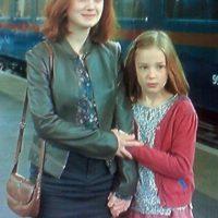 """En 2011, la pequeña Daphne de Beistegui se metió en la piel de la tercera hija de los """"Potter"""". Foto:vía YouTube"""