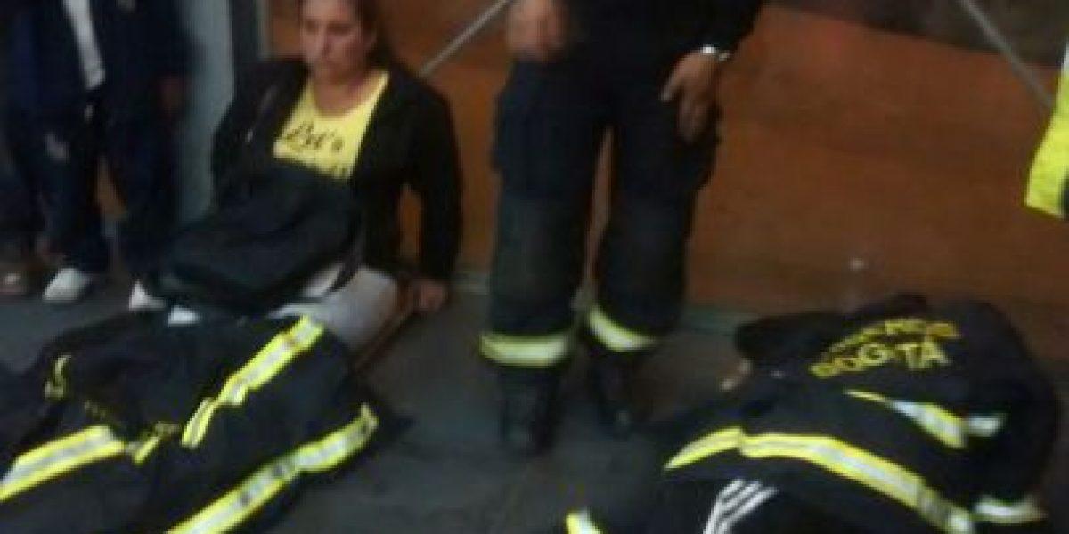 Se desplomó ascensor en estación de TransMilenio en Suba