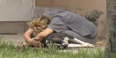 Hasta que un policía la mató al frente de su casa.