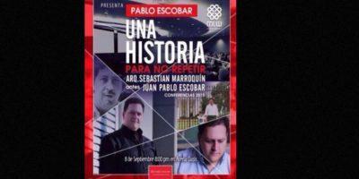 De hecho, Escobar amenazó a sus empleados: morirían si les veía fumar frente a él. Foto:vía Facebook/Sebastián Marroquín