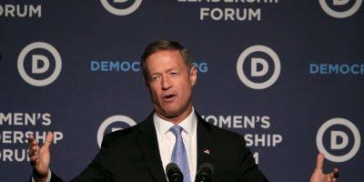 Y el gobernador de Maryland, Martin O'Malley. Foto:AFP
