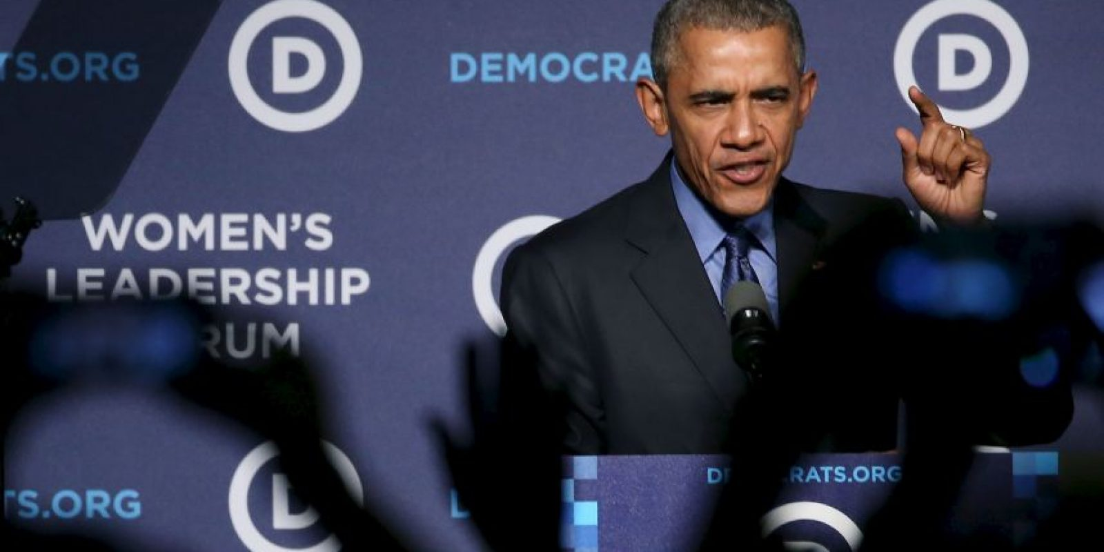 Además de recalcar que los miembros del Partido Demócrata (al que pertenece) tienen una visión optimista de hasta dónde puede llegar el país. Foto:AFP