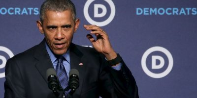 Durante su discurso en el Foro de Mujeres Líderes del Comité Nacional Demócrata, Barack Obama reclamó que los políticos del Partido demócrata ven muchas situaciones del país negativas. Foto:AFP