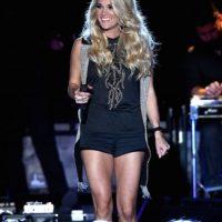 """La cantante reveló la existencia de su tercer pezón en las audiciones del reality show """"American Idol"""". Foto:Getty Images"""